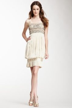 Sue Wong Pleated Short Dress - Totally 20's/Gatsby