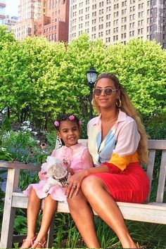 #Mommy&Me #Beyoncè and #BlueIvy Carter