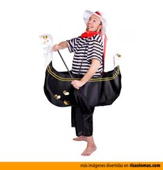 Disfraces originales: Gondolero.