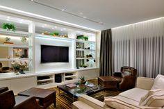 #quitetefaria Home Theater casa de luxo, decoração, home decor, arquitetura