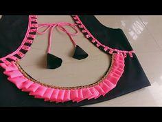 Simple Blouse Designs, Blouse Back Neck Designs, Stylish Blouse Design, Cotton Saree Blouse Designs, Blouse Designs Catalogue, Designer Blouse Patterns, Lingerie, Tailoring Classes, Peacock Pictures