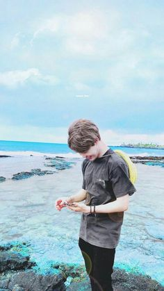Sea + Jimin = Extra soothing
