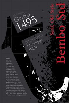 bembo poster - Google Search