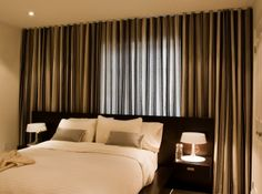 30 Best Wall curtains images | Curtains, Curtains behind bed ...
