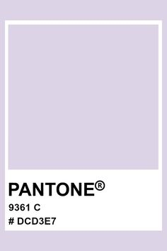 PANTONE 9361 C #pantone #color #pastel #hex Pantone Colour Palettes, Pantone Color, Pantone Matching System, Pms, Pastel Colors, Backgrounds, Winter, Design, Pallets