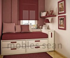 small space bedroom | These Are Very Small Spaces - Small Kids Bedroom Ideas, Small Bedrooms ...