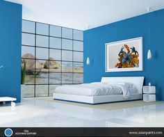 The classic duo blue and white is an appealing combination. This serene palette creates a feeling of elegance and simplicity that is unparalleled.  Check out more interesting combinations on our Inspiration Wall here: http://www.asianpaints.com/get-inspired/inspire-yourself/inspiration-wall.aspx