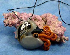 polymer clay nautilus - Google Search