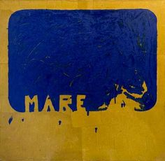 Mario Schifano, Mare