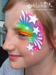 Face painting motifs for your children& party! - Face painting motifs for your children& party! Face Painting Tutorials, Face Painting Designs, Paint Designs, Body Painting, The Face, Face And Body, Dragon Birthday Parties, Unicorn Halloween, Kids Makeup