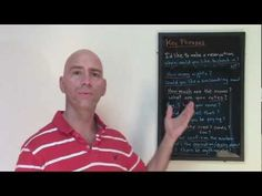 ▶ Hotel English, Part 1: How to make hotel reservations (English conversation lesson) - YouTube