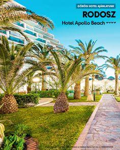 Hotel Apollo Beach 🧡🧡🧡🧡 Görögország, Rodosz, Faliraki  www.neckermann.hu/szallas/hotel-apollo-beach/52472?catalog=NAH Apollo Beach, Naha, Sidewalk, Mansions, House Styles, Manor Houses, Side Walkway, Villas, Walkway