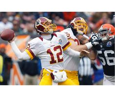 Kirk Cousins, starting in place of RGIII, threw two touchdown passes as the 'Skins won their fifth straight game.