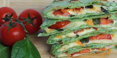 Špenátové quesadillas (plnené tortilly) - Tinkine recepty