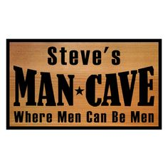 mancave signs - Google Search
