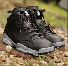 "Air Jordan (Retro) 6 ""Black Cement"""