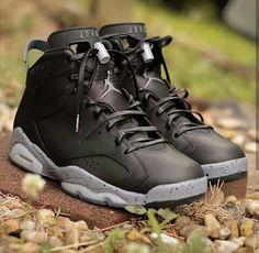 "Air Jordan (Retro) 6 ""Black Cement"""