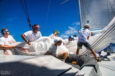 Jules, a Salamander Skipper in the UK during the summer season, taking time out racing in another Caribbean regatta, this time the Antigua Superyacht Challenge on board Marama, a 38 m aluminium ketch superyacht where they came 5th in class. http://www.thesalamandersailingadventure.com/events