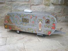 Magnolia Pearl Airstream Trailer Dollhouse Gypsy style