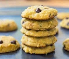 Soft-Coconut-Flour-Chocolate-Chip-Cookies-