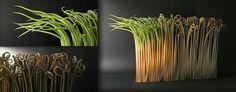 Alberto Bustos' Paperlike Ceramics Imitate Sprouting Blades of Grass | Colossal | Bloglovin'