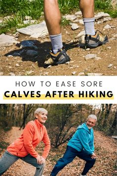 It's not unusual for your calf muscles to feel a little bit sore after you've been hiking or backpacking all day. But there are some ways that you can treat sore calves with ease! Here are our tips on how to take care of those tired, but important muscles when it's time to call it a day after a long hike. Backpacking Tips, Hiking Tips, Calf Muscles, Sore Muscles, Sore Calves, Tired, I Am Awesome, Feelings, Women