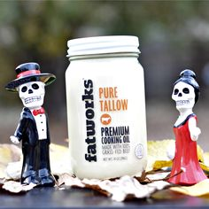 Fatworks Third Annual Talloween! Premium Grass Fed Tallow, Pastured Raised Lards and Organic Poultry Fats sourced from small family farms and rendered to perfection at www.fatworks.com #talloween #fatworks #duckfat #tallow #porklard #chickenfat #schmaltz #leaflard #grassfed #pastureraised #smallfarms