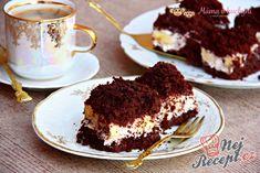 Odlehčený krtkův dort na plech | NejRecept.cz Gimme Some Sugar, Hungarian Recipes, Hungarian Food, Party Finger Foods, Cake Batter, Pavlova, Cake Cookies, Dessert Recipes, Food And Drink