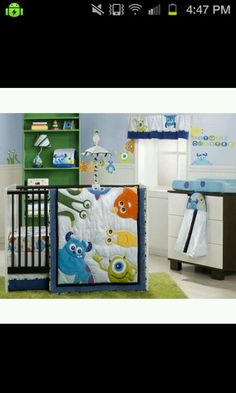 34 Best Monsters Inc Nursery Images Monsters Inc Nursery