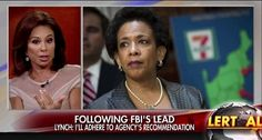 Judge Jeanine calls Loretta Lynch's submissive new stance on FBI email investigation 'a charade'