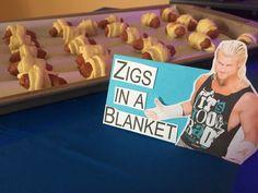 Zigs in a Blanket #wwe