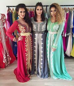 Nouveaux modèles de caftan marocain haute couture 2016 à vendre sur mesure au prix adorable