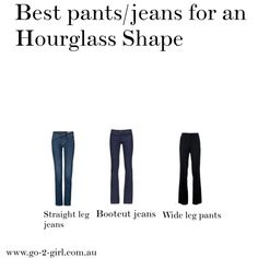 Best pants/jeans for an Hourglass shape
