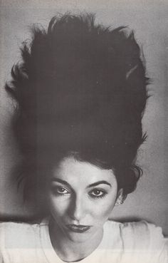 Kate Bush. By Anton Corbijn, 1981