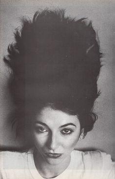 Kate Bush. By Anton Corbijn, 1981