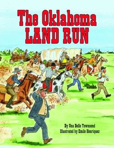 The Oklahoma Land Run (Book) : Townsend, Una Belle : Nine-year-old Jesse convinces his injured father to let him drive the wagon during the 1889 Oklahoma Land Rush. Social Studies Classroom, Teaching Social Studies, Oklahoma Land Rush, Pioneer Life, Reading Comprehension Strategies, County Library, Children's Picture Books, Science Lessons, Summer School