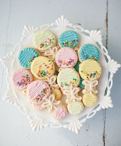 Baby Rattle Cookies by JennyCookies