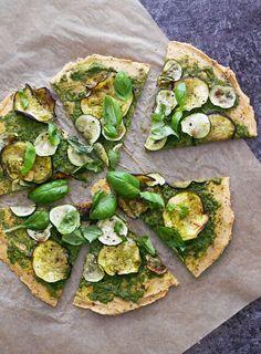 Syötävän hyvä: VIHREÄ PIZZA (VEGAANINEN, GLUTEENITON)