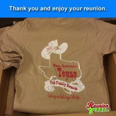 Felt Family reunion, Texas State Design. #reuniontees #ctp365 #reuniontshirts #familyreuniontshirts