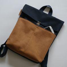 Rucksäcke - Rucksack Backpack - ein Designerstück von Uli-Kuli-Nur-fuer-dich-genaeht bei DaWanda