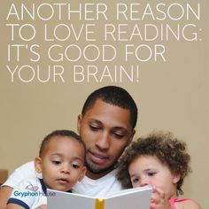 #Reading: It's good for your brain! #Literacy