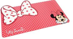 Disney Minnie Mouse Pet Bowl Mat * More info could be found at the image url.