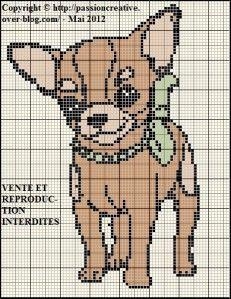 Afbeeldingsresultaat voor bead embroidery chihuahua