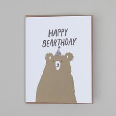 Happy Bearthday | Papersmiths