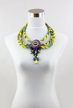 Toubab, Paris Trio strand necklace with beads