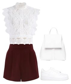 """""""Untitled #1284"""" by bellax01 on Polyvore featuring Topshop, Chicwish, NIKE and Boo"""