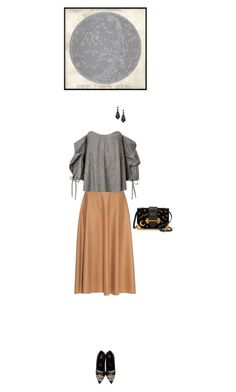 """""""Astrology"""" by blueeyed-dreamer ❤ liked on Polyvore featuring MaxMara, Versace, Prada and Pottery Barn"""