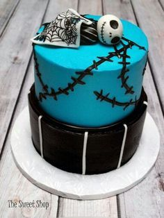 nightmare before christmas baby shower cake - Google Search