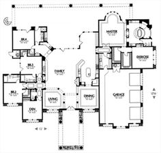 U Shaped House Plan With Pool. U. Home Plan And House Design Ideas