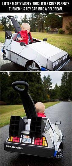:-) Lucky kid!